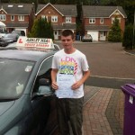 danny passed driving test