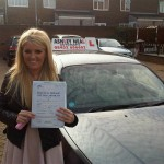 laura passed driving test in liverpool