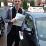luke passed driving lesson in liverpool