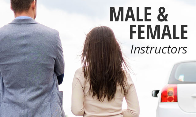 Male and Female Instructors