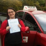 maria passed driving test