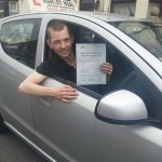 sean passed driving test